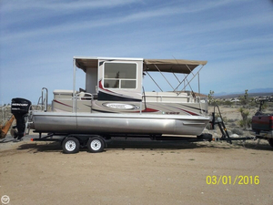 Used Voyager Extreme 22 Ski Pontoon Boat For Sale