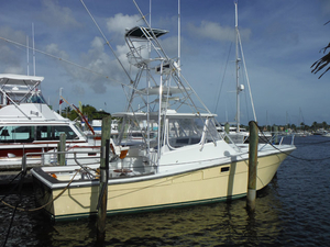 Used Topaz 36 Sportfish Sports Fishing Boat For Sale