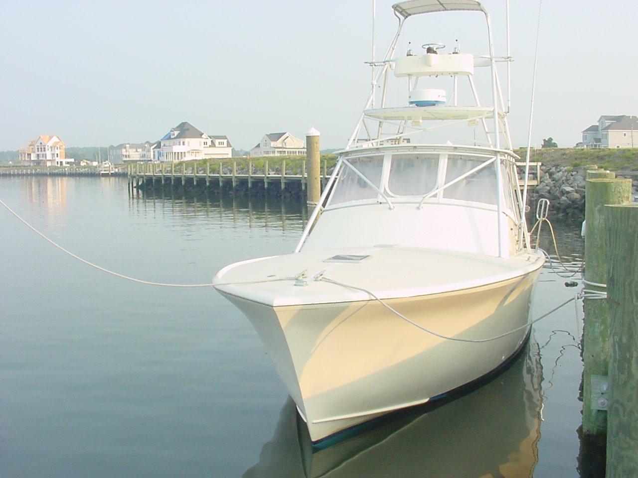 1987 Used Island Boat Works Custom Carolina Sports Fishing
