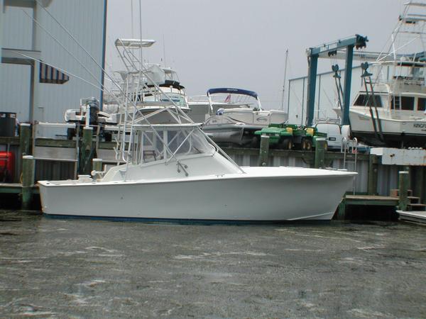 Used Island Boat Works Custom Carolina Sports Fishing Boat For Sale