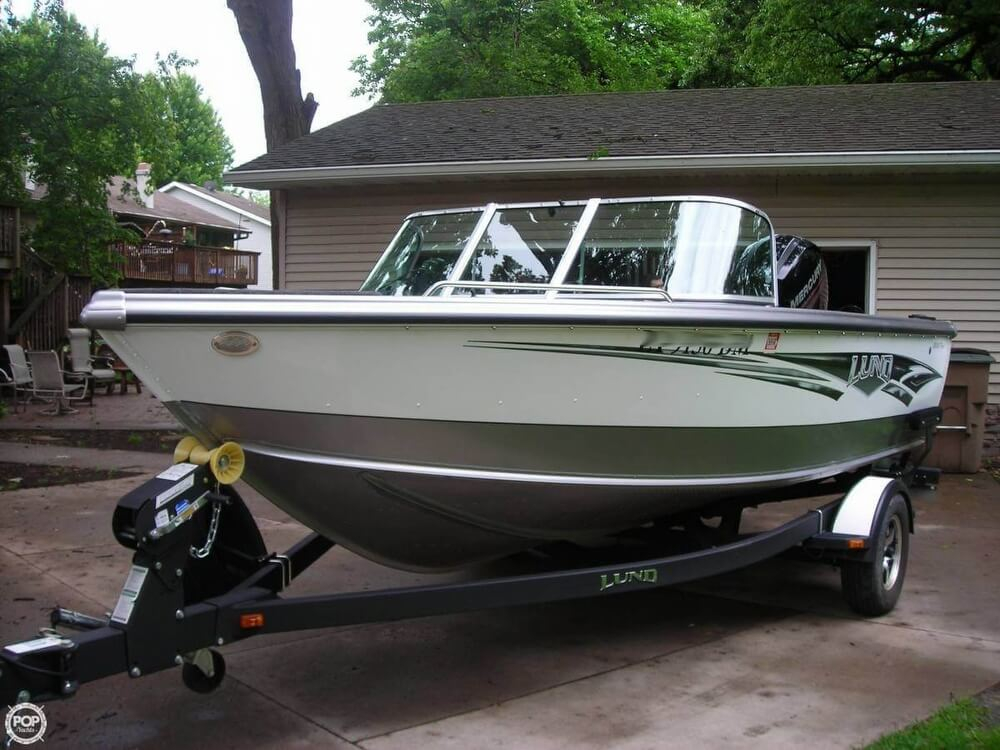 2014 used lund 1800 tyee aluminum fishing boat for sale