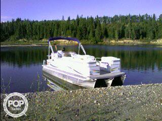 Used Manitou Oasis 22 SHP Pontoon Boat For Sale