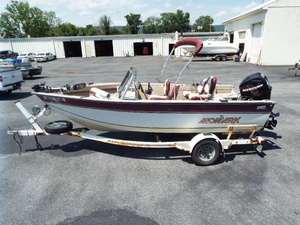 Used Monark Marine PRO 1700 Freshwater Fishing Boat For Sale