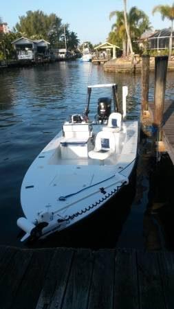 Used Lake & Bay 20 Boca Grande Flats Fishing Boat For Sale