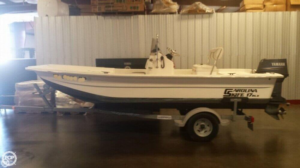 Used Carolina Skiff DLX 1765 Skiff Fishing Boat For Sale