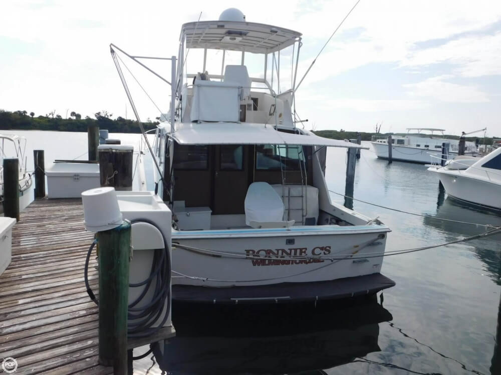1969 used hatteras 45 sports fishing boat for sale for Used fishing boats