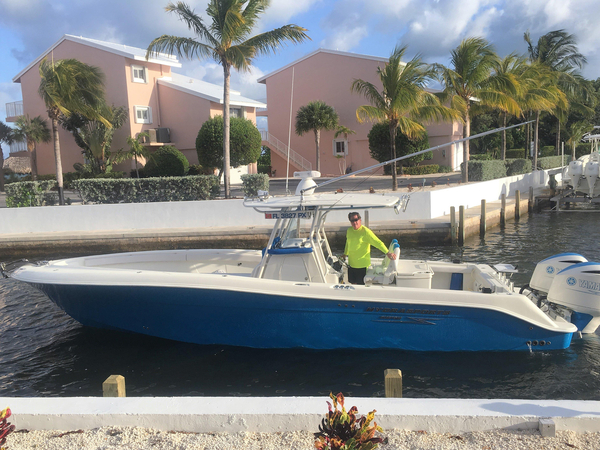 Used Hydra-Sports Custom 3400 Center Console Fishing Boat For Sale