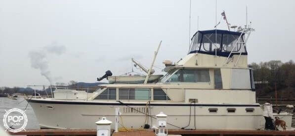 Used Hatteras Fisherman 48 Cruiser Boat For Sale