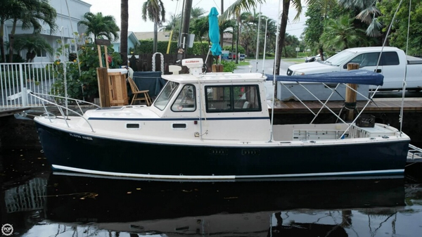 Used Atlas Acadia 25 Pilothouse Boat For Sale