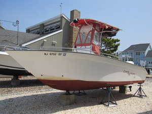 Used Cape Horn Center Console Fishing Boat For Sale