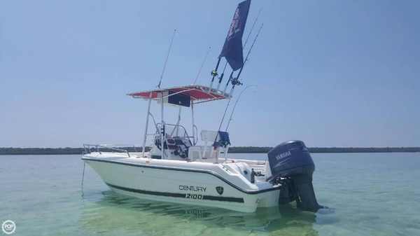 Used Century 2100 Center Console Fishing Boat For Sale