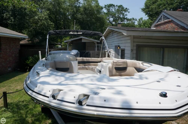 Used Hurricane 203 Sun Deck Sport Deck Boat For Sale