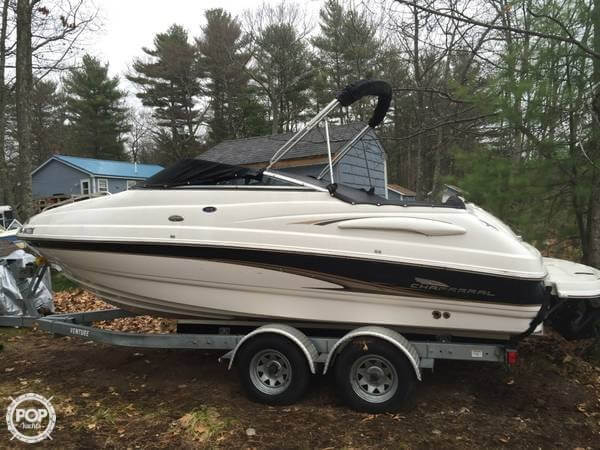 Used Chaparral 215 SS Cruiser Boat For Sale