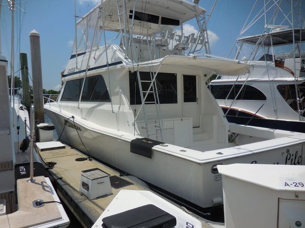 Used Viking Yachts 53 Convertible Sports Fishing Boat For Sale