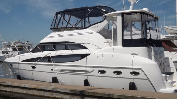 Used Meridian 408 Motoryacht Aft Cabin Boat For Sale