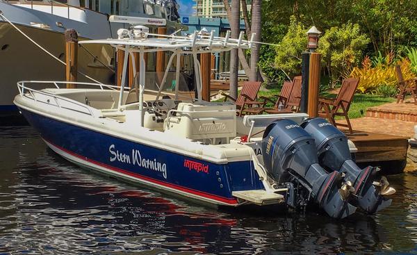 Used Intrepid 323 Cuddy W Forward Seating Cuddy Cabin Boat For Sale