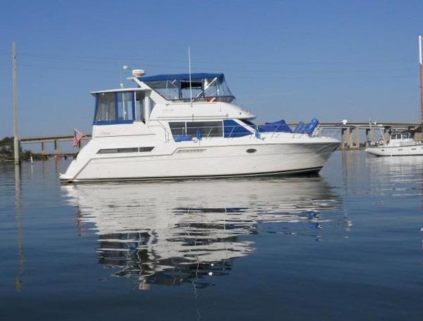 Used Carver 405 Aft Cabin Boat For Sale