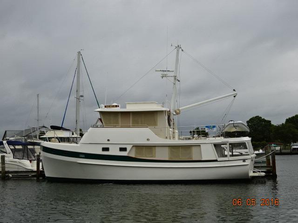 Used Kadey Krogen Whaleback Trawler Boat For Sale