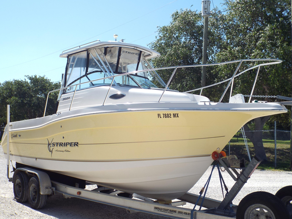 Used Seaswirl Striper 2601 Walkaround IO Center Console Fishing Boat For Sale