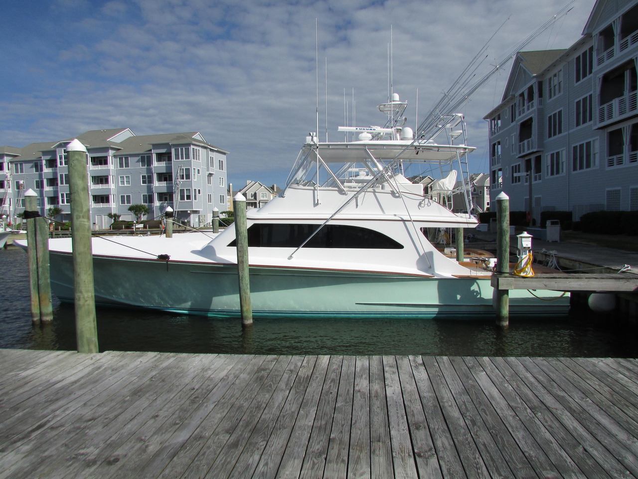 2008 used blackwell custom carolina 61 carolina custom for Used fishing boats for sale in eastern nc