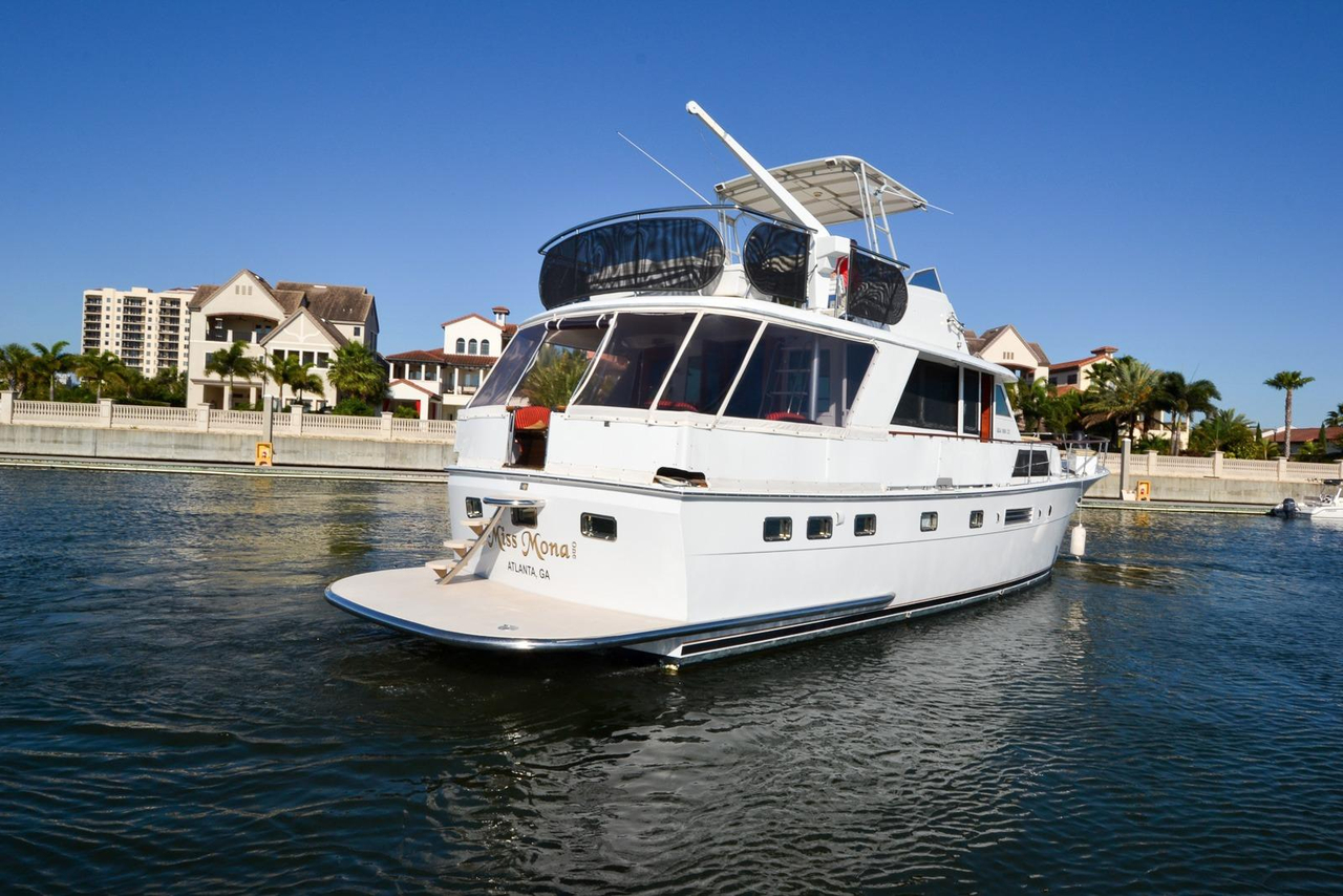 1973 used hatteras 53 motor yacht aft cabin boat for sale for Hatteras motor yacht for sale