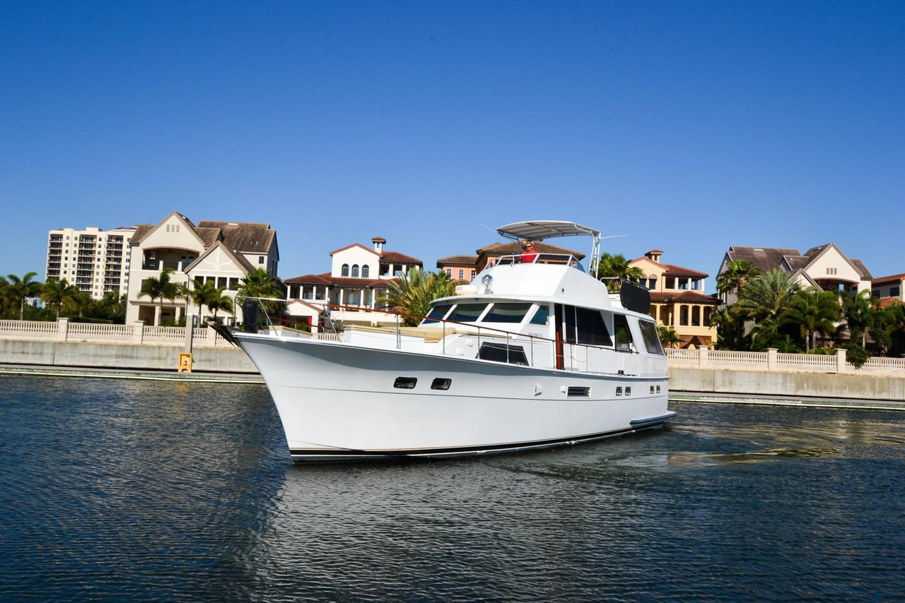 1973 Used Hatteras 53 Motor Yacht Aft Cabin Boat For Sale