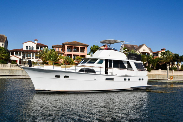 Used Hatteras 53 Motor Yacht Aft Cabin Boat For Sale