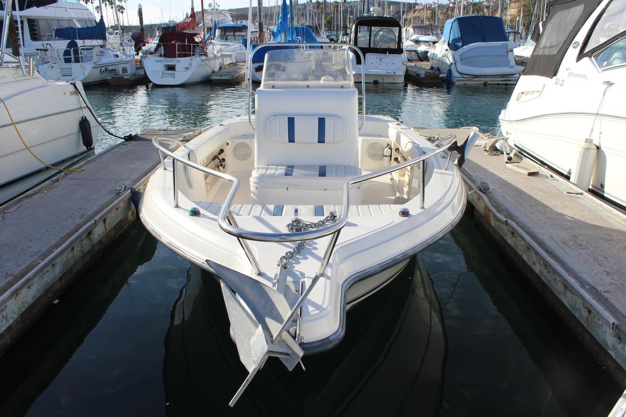 2002 used sea fox 217 center console center console for Used center console fishing boats for sale