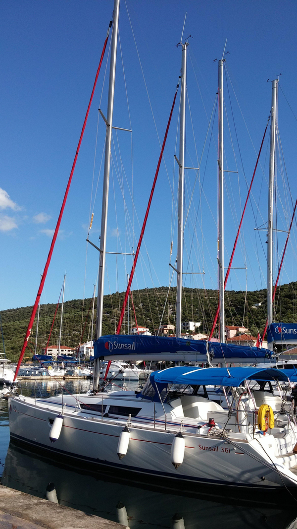 Used Jeanneau Sun Odyssey 36I Sloop Sailboat For Sale