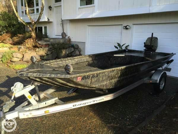 Used Ranger Boats 1652 MPV Aluminum Fishing Boat For Sale