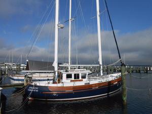 Used Fairways Marine Fisher 37 Motor Sailor Motorsailer Sailboat For Sale