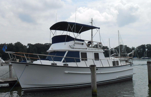 Used Monk 36 Trawler Boat For Sale