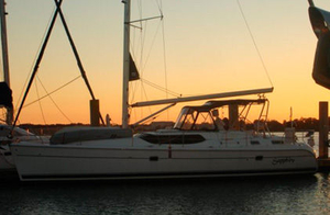 Used Hunter 45CC Cruiser Sailboat For Sale