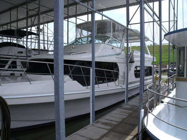 Used Bluewater Yachts 54 House Boat For Sale
