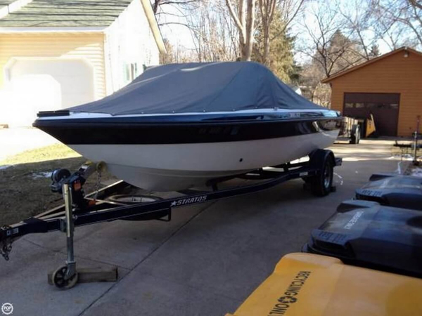 Used Stratos 386XF Bass Boat For Sale