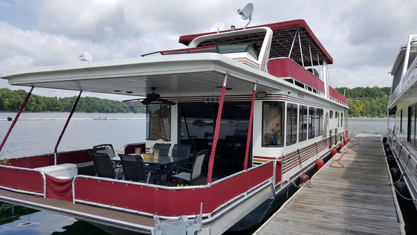 Used Stardust Cruisers 16 X 77 Houseboat Cruiser Boat For Sale