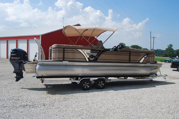 New Veranda Vertex 25RC Pontoon Boat For Sale