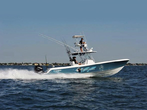 Used Bluewater 3550 Center Console Fishing Boat For Sale