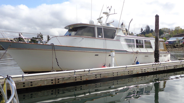 Used Delta Marine Long Range Cruiser Pilothouse Boat For Sale