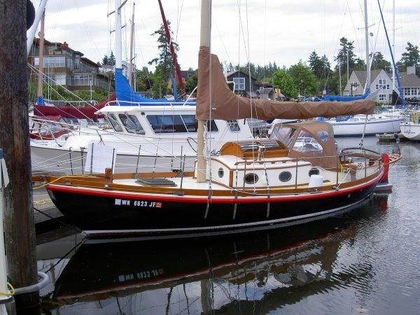 Used Eric Jr Double Ended Cruiser Cutter Sailboat For Sale
