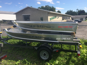 New Lund A 14 Sports Fishing Boat For Sale