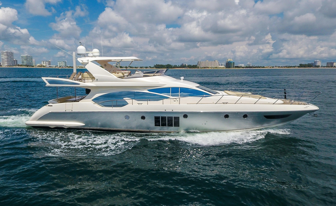 2011 used azimut 70 flybridge motor yacht motor yacht for for Used motor yacht for sale