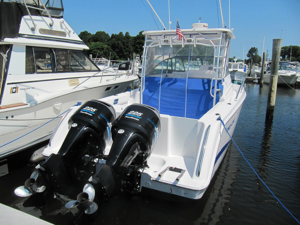 Used Proline 33 Express Saltwater Fishing Boat For Sale