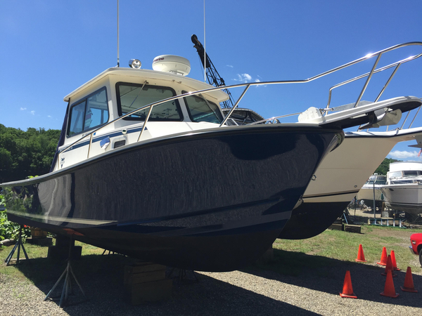 Used Steiger Craft 26 Chesapeke Downeast Fishing Boat For Sale