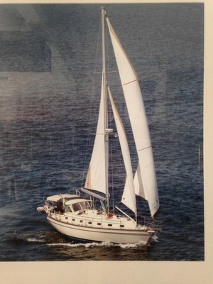 Used Island Packet 420 Cutter Sailboat For Sale