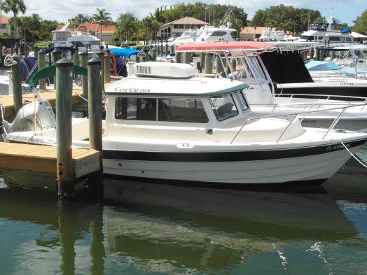 Used Custom Caper Cruiser 23 Downeast Fishing Boat For Sale