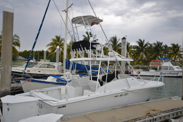 Used Luhrs 29 Open Diesel Sports Fishing Boat For Sale