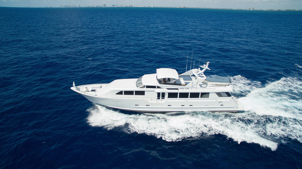 2000 used broward raised pilothouse motor yacht for sale for Used motor yachts for sale in florida