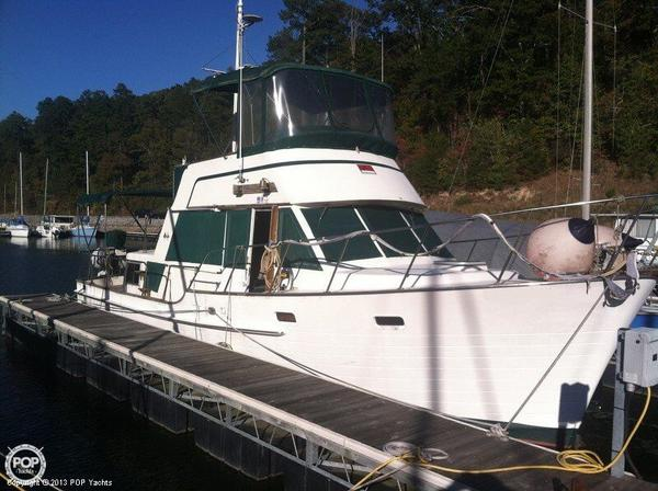 Used Island Gypsy 36 Trawler Boat For Sale