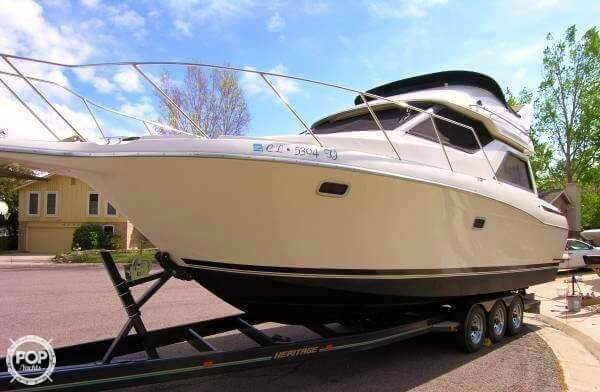Used Bayliner 3258 Avanti CB Express Cruiser Boat For Sale